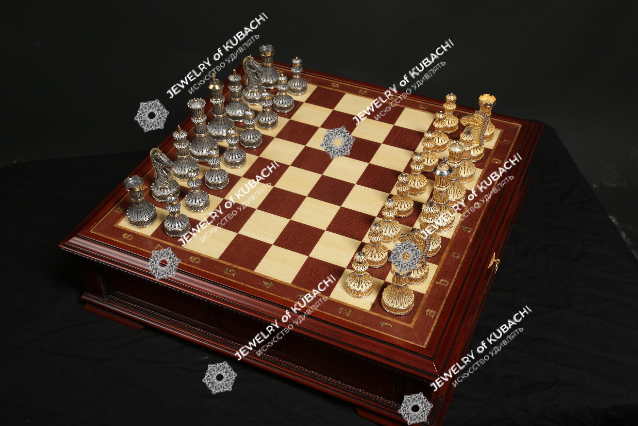 Шахматы «МИРНЫЙ ВОИН»